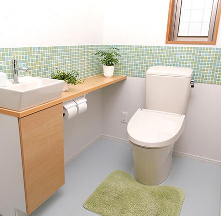 トイレ・洗面所リフォーム画像